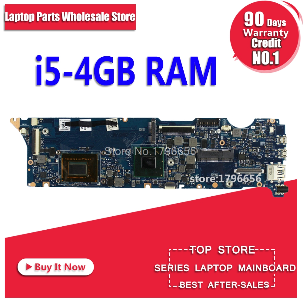 For ASUS UX31E motherboard ux31e Motherboard laptop motherboard Integrated i5 CPU Tests work 100% pia 639dv motherboard 100