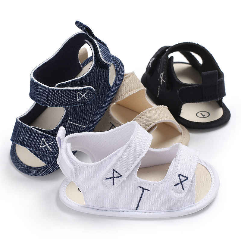 2019 Baby Sandals Baby Summer Shoes baby girl boy Fashion  Classic Canvas Clogs Baby Shoes