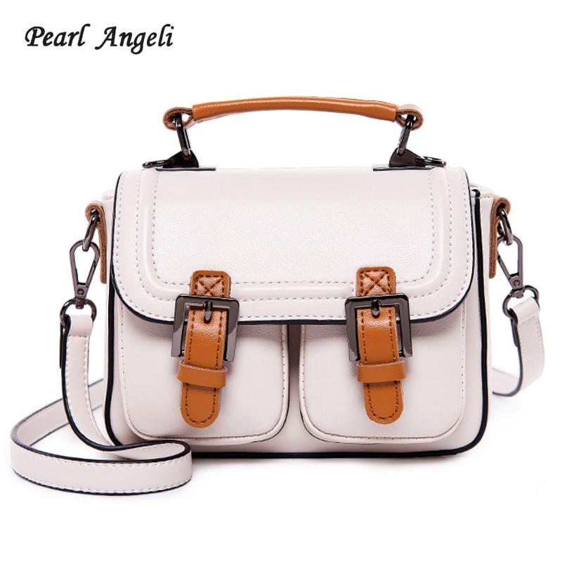 Pearl Angeli Fashion Women Handbag Large Capacity Double Pocket Strap Hasp Tote Female Ladies Shoulder Bag Party Bolsa Feminina