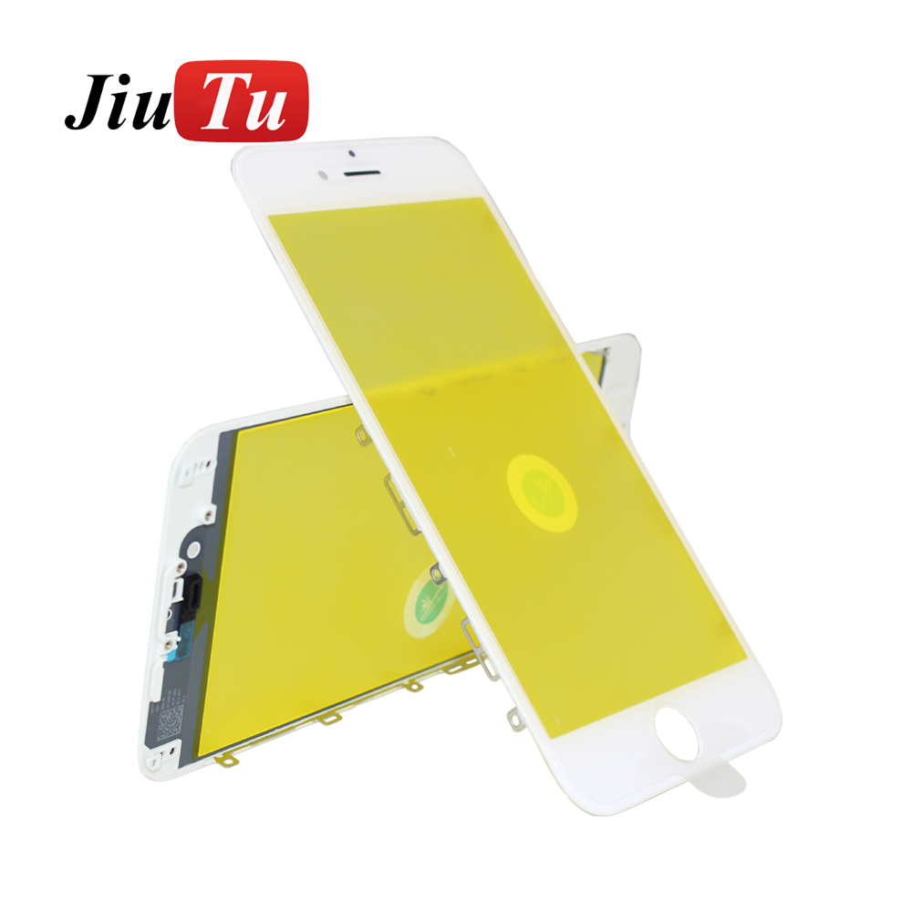 Jiutu 10pcslot Glass With Bezel Frame Cold Press For iPhone 6G6 Plus 6S6S Plus (5)