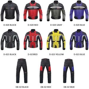Image 2 - Защитные мотоциклетные брюки для мотокросса, на колено