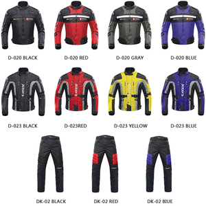 Image 2 - DUHAN Motorcycle Jacket Moto Motocross Pants Enduro Riding Trousers Motocross Off Road Racing Sports Knee Protective Trousers