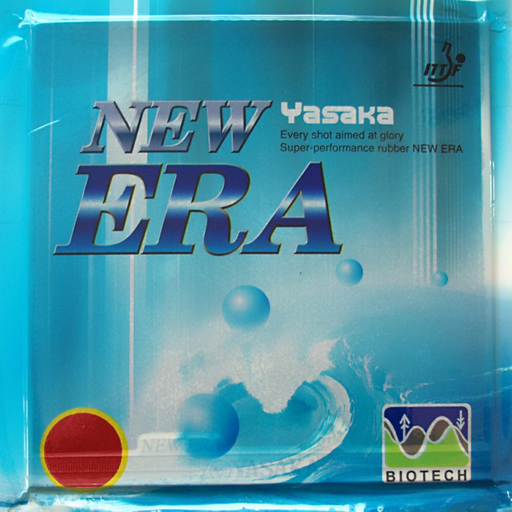 Yasaka The NEW listing ERA 40mm BIOTECH 42-44 Degrees Pimples In Table Tennis PingPong Rubber With Sponge 2015 NO ITTF 2.2mm