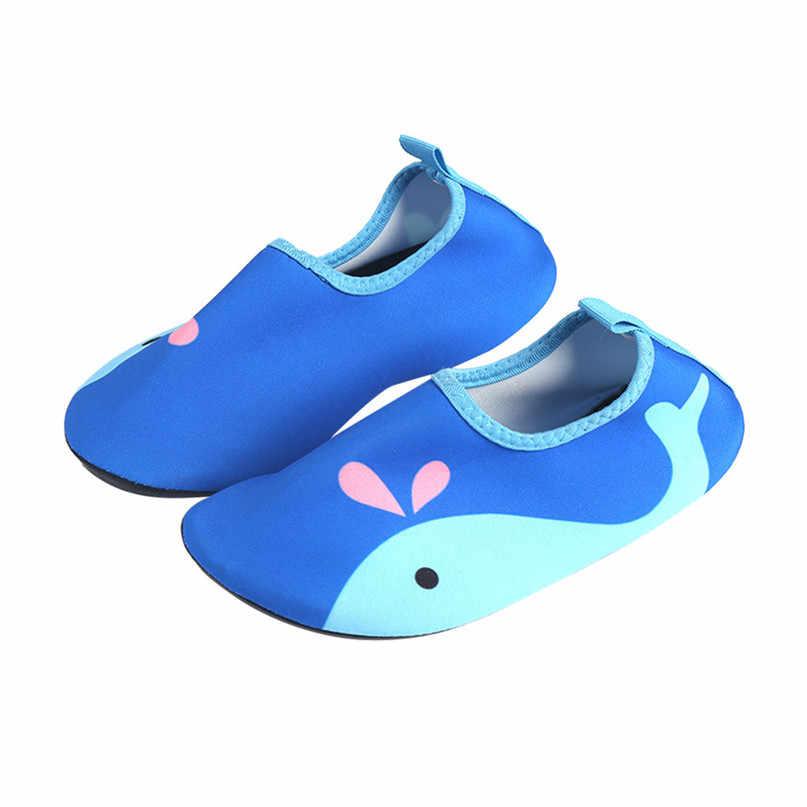 Crianças sandálias novos esportes aquáticos descalço praia ao ar livre sandálias de secagem rápida do aqua meias para praia piscina nadar yoga crianças sandálias 4qw