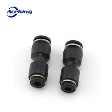 Pneumatic quick coupling black plastic change-over quick coupling direct draft coupler quick pg6-4/8-6/10-8/12-10/12-8 new arrival generator adaptor coupling for fiber optic compatible with kavo multiflex coupling 460 led 4 holes midwest coupler