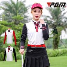 PGM осенне-зимний костюм для гольфа, женская футболка с длинными рукавами, одежда для гольфа, духовой костюм