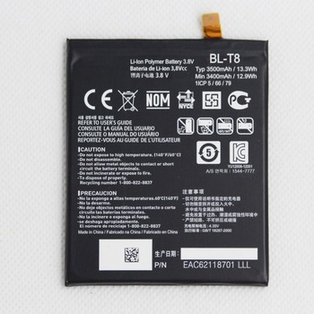 10pcs/lot 3500mah Phone Battery BL-T8 for LG G Flex D950 D955 D958 D959 LS995 F340S BLT8 Phone Internal replace lithium battery