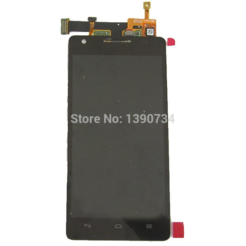imágenes para Negro Mejor Calidad de Pantalla LCD Full + Pantalla Táctil de Cristal Digitalizador Reemplazo Asamblea Para Huawei Honor 3 Teléfono HN3-U01
