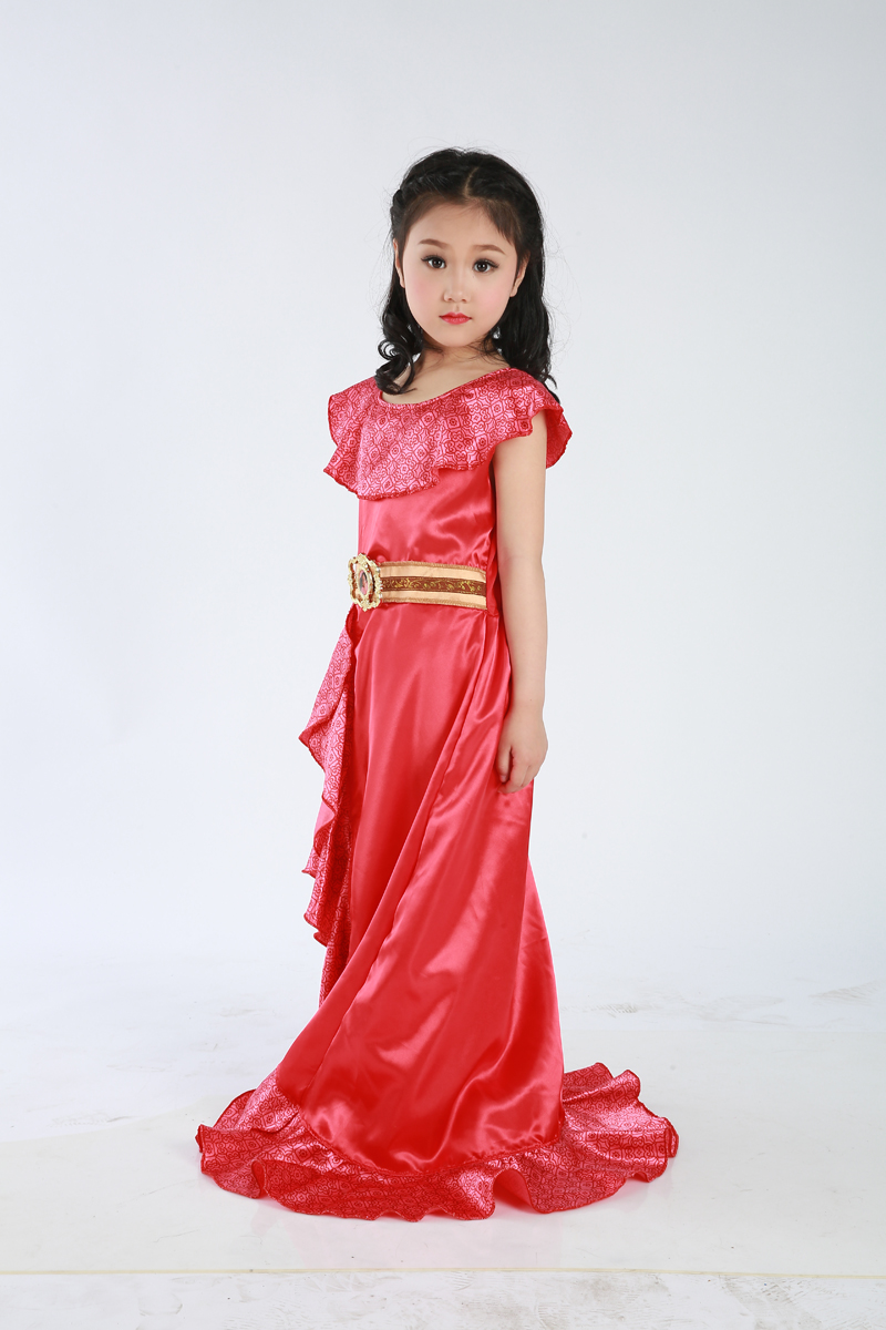New Favourite Latina Princess Elena From TV Elena Of Avalor Adventure Next Child Halloween Costumes for Girl