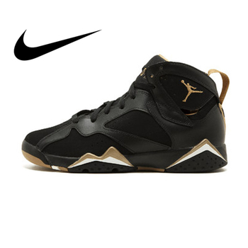Tendencia Air Jordan Liebre Deportivos Baloncesto Al Zapatos De Aire 7 Diseñador Original Nike Mujeres Libre Auténtico Bg IWD29EH