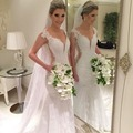 New Design 2017 Top Quality Sexy Open Back Lace Beading Mermaid Wedding Dress Wedding Gown Vestido de Noiva  Custom Size NS09