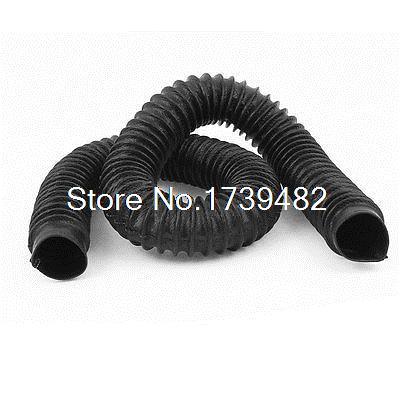 Machine Tool Flexible Bellows Dust Proof Ball Screw Cover Protector 40mm X 1M