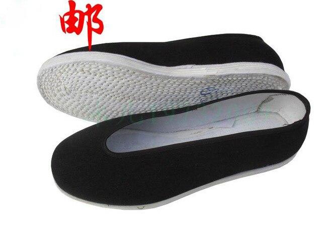 Unisex Sepatu Kungfu Cina Wing Chun Tai Chi Flat Kain Katun Tradisional  Kualitas Tinggi Nyaman Dan 4f6c6e06b1