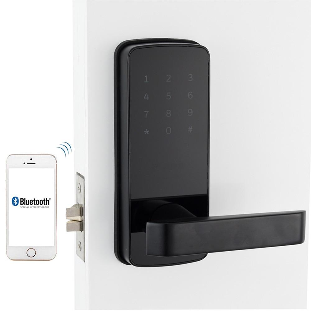 электронный дверной замок Корейском стиле Расширенный пароль digital smart bluetooth замок с TT замок приложение Дистанционное управление для дома и к...