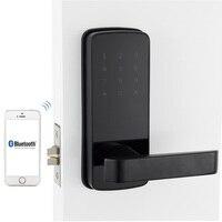 электронный дверной замок Корейском стиле Расширенный пароль digital smart bluetooth замок с TT замок приложение Дистанционное управление для дома и к