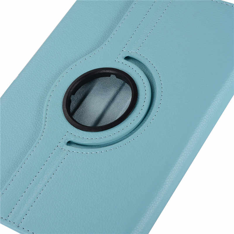 Funda para Huawei MediaPad T3 10 9,6 pulgadas AGS-L09-L03 W09 Funda de cuero 360 tabletas giratorias para Honor Play Pad 2 9,6 pulgadas funda + película + bolígrafo