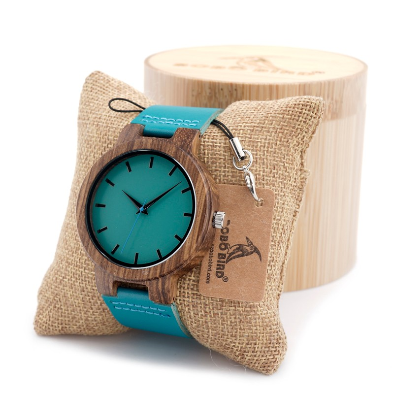 The New Bamboo Wood Watch For Men And Women Japanese miytor 2035 Quartz Analog Casual Watch With Gift BoxHigh Quality Bamboo Woo analog quartz watch for men women