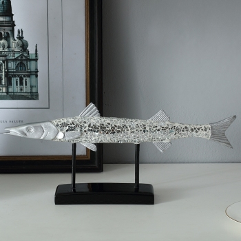 A PCS Creative simple modern lucky fish decoration home decoration crafts office model room hotel decoration gift AP5251750