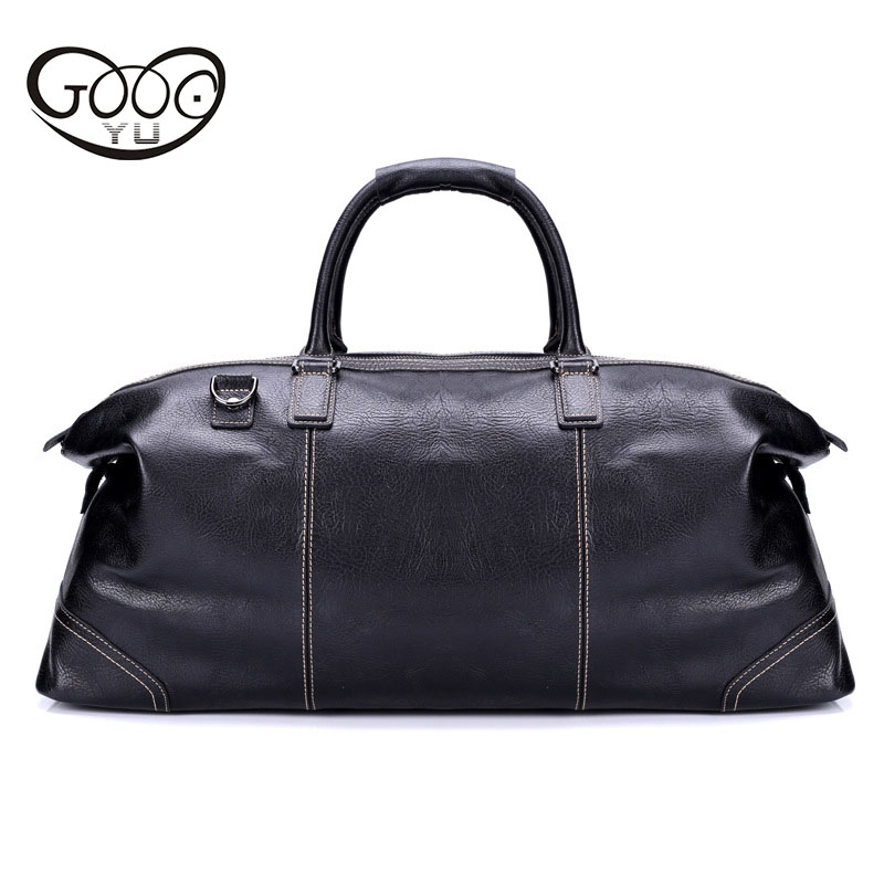 New leather travel bag men's portable large capacity business travel luggage bag first layer Mad cow leather luxury handbags the new europe and america portable shoulder bag handbag large capacity portable shoulder bag business travel luggage bag