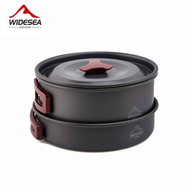 Widesea Camping cookware Outdoor picnic set 4