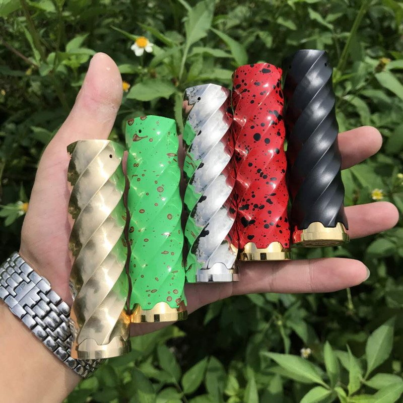 US $21 83 9% OFF|Newest Vape Mod Complyfe Vortex Mod 510 Thread 5 Colors  fit 18650 Battery Electronic Cigarette Comp Lyfe Vortex Mechanical Mod-in