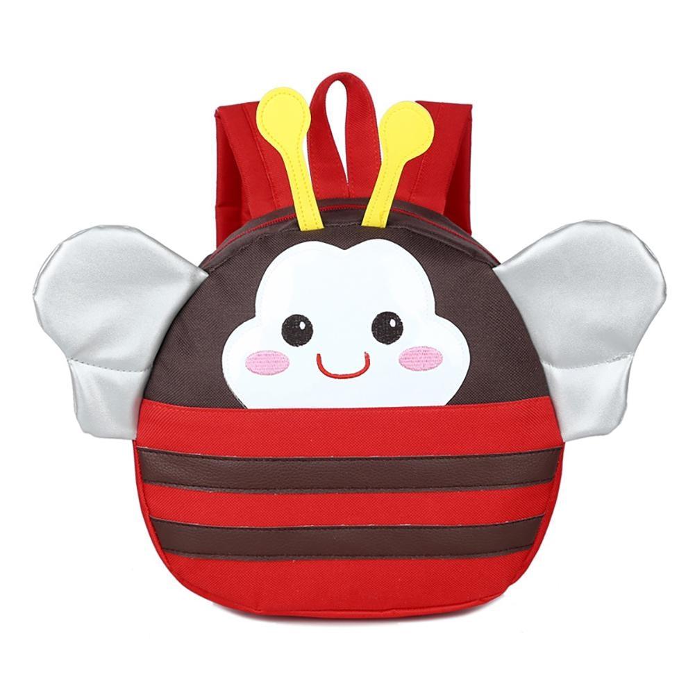 Cute Cartoon Kids Bee Backpack Toy Mini School Bag Children Gifts Kindergarten Boy Girl Baby Student Anti-lost Lovely Mochila