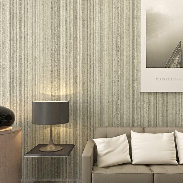 d papel pintado moderno papel tapiz de rayas verticales de color liso para paredes d sala - Papel Pintado Rayas Verticales