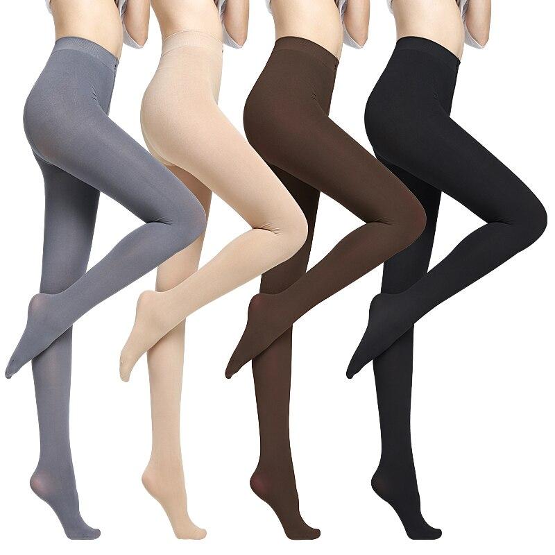 1 Pcs Women Foot Pantyhose Nylon Stockings Elastic Tights Fashion Pantyhose for Women Sexy Black Stockings Warm Tights Pantyhose