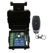 433 МГц Универсальный беспроводной пульт дистанционного управления DC 12 В 1CH релейный модуль приемника РЧ передатчик 433 МГц пульт дистанционного управления s