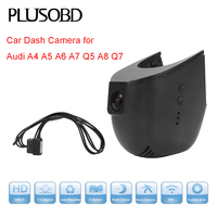 Car DVR Camera Dash cam for Audi Car A4 A5 A6 A7 Q5(year 2008 2012) /A8 Q7(year 2007 2015) with OBD Connect cable