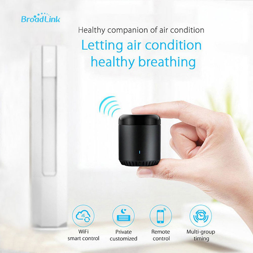 Broadlink RM Mini3 Smart Home Automation Universal Intelligent Remote Controller 4G WiFi IR Work With Alexa Google Home Mini