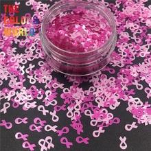 TCT 310  Awareness Ribbon Nails Glitter Nail Art DIY Decoration Body Art Decorations Face Painting Craft Tumblers Party Supplies