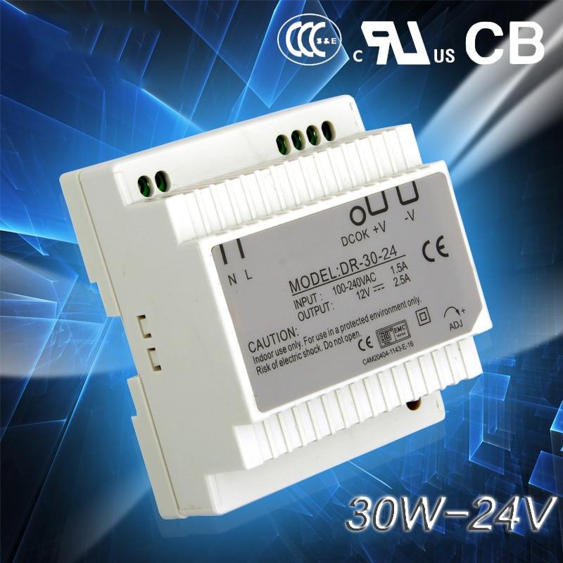 Din Rail Switch Power Supply 30w 24V power supply 24v 30w ac dc converter good quality dr-30-24Din Rail Switch Power Supply 30w 24V power supply 24v 30w ac dc converter good quality dr-30-24