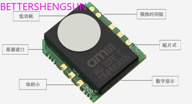Hoge precisie indoor air quality sensor module iAQ-Core C Low Power TVOC iAQ-core