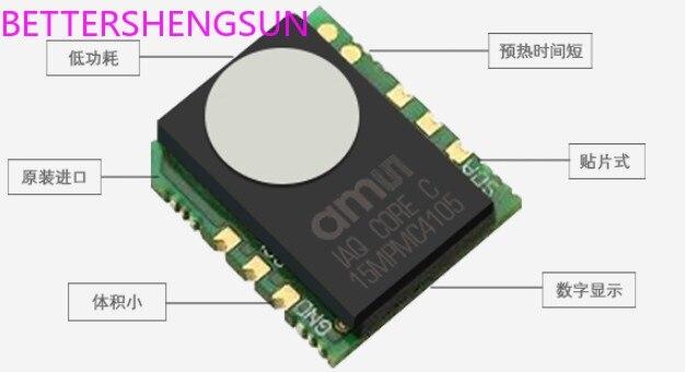 Wysoka precyzja jakości powietrza w pomieszczeniach moduł czujnika iaq-core C niski pobór mocy TVOC iaq-core