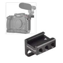 """Адаптер крепления для холодного башмака камеры под углом 90 градусов для установки DSLR камеры прикрепить к боковой клетке ручка камеры L пластина с винтами 1/4"""""""