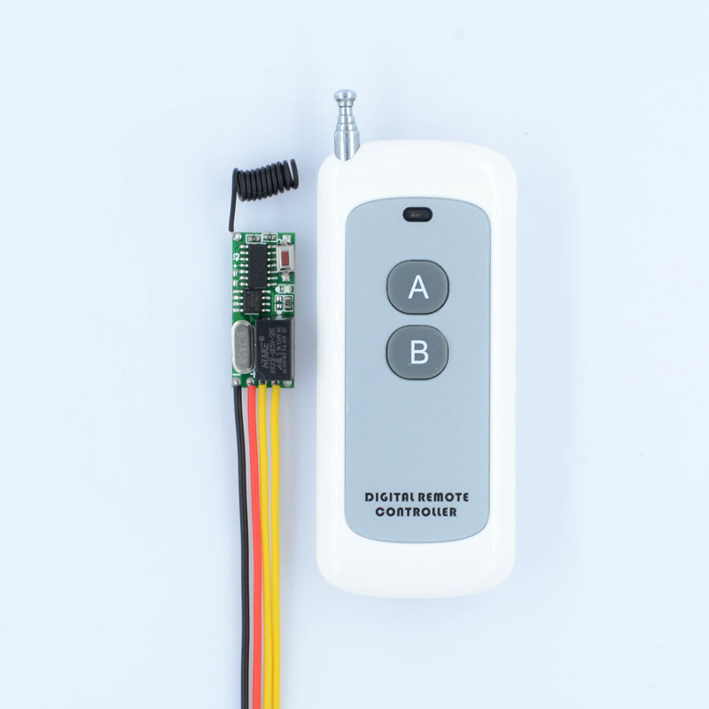 DC3-5V RF Wireless Radio Remote Control Switch Universal Remote Control Lighting Long Distance 315/433 Momentary Toggle Latched new rf wireless switch wireless remote control system 2transmitter 12receiver 1ch toggle momentary latched learning code 315 433