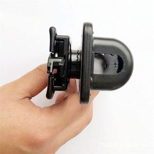 Image 4 - 360 Graden Rotatie GAS Baton Holster Extensible Black Baton Houder Case Pouch voor outdoor politie baton telescopische zelfverdediging