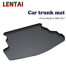 EALEN 1PC Car rear trunk Cargo mat For Mazda 6 2009 2010 2011 2012 2013 2014 2015 2016 2017 Car Boot Liner Tray Anti-slip mat ealen 1pc rear trunk cargo mat for toyota highlander 2009 2010 2011 2012 2013 2014 boot liner tray anti slip mat accessories