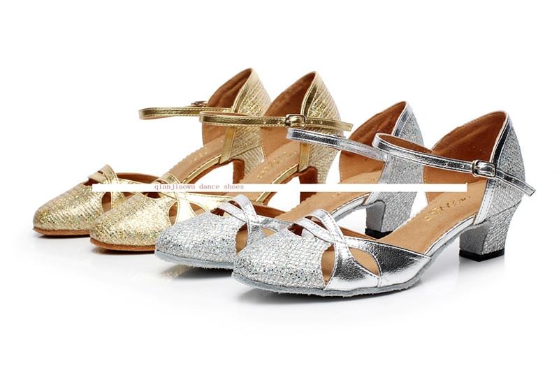 Promotionele Salsa / Tango Schoenen dames hoge hak dames lijn dansschoenen