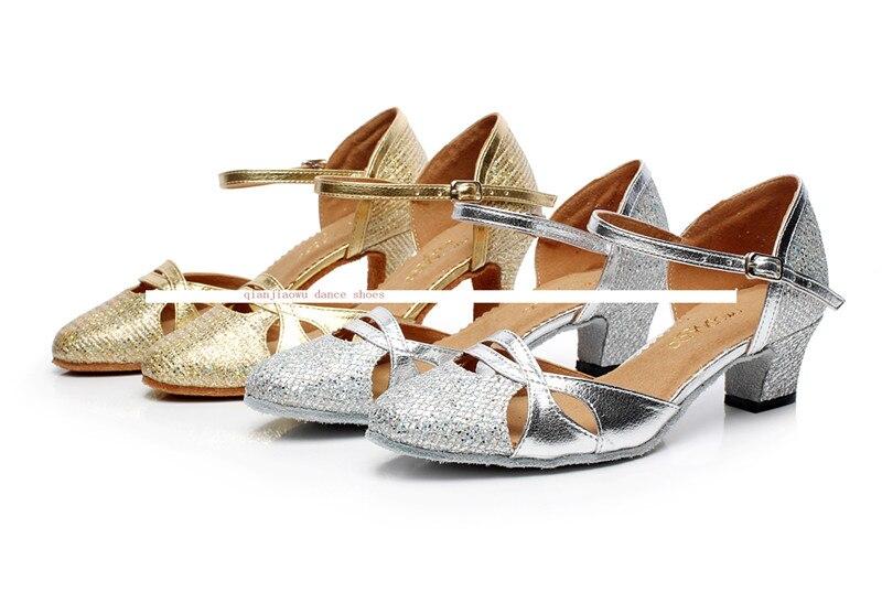 Salgsfremmende Salsa / Tango Sko damer højhælede sko damer line dance sko