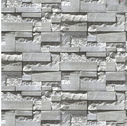 Online Get Grey Brick Wallpaper Aliexpress Com Alibaba Group Amazing Wallpaper Decorating Ideas