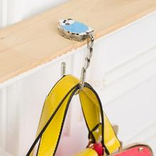 Lamb Table Foldable Gift Bag Hanger Portable Handy Holder Purse Hook Blue