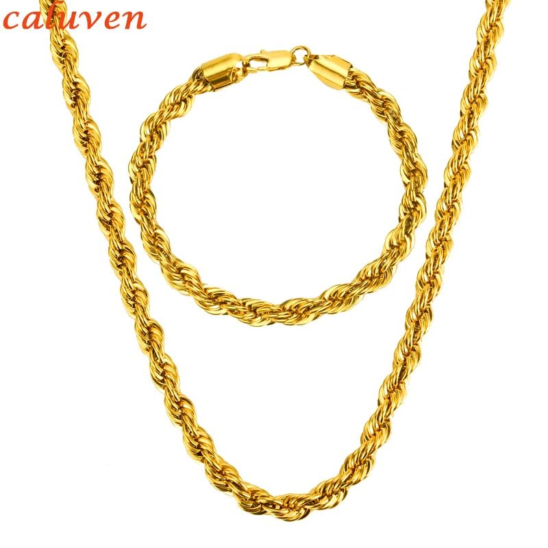 Big 8MM Chain Necklace Set...