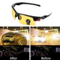Gafas para conducir con visión nocturna, lentes protectoras para Ford Focus 2 1 Fiesta Mondeo 4 3 Transit Fusion Ranger Mustang KA s-max