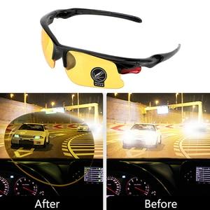 Car Driving Glasses Night Vision Glasses Protective For Ford Focus 2 1 Fiesta Mondeo 4 3 Transit Fusion Ranger Mustang KA S-max(China)