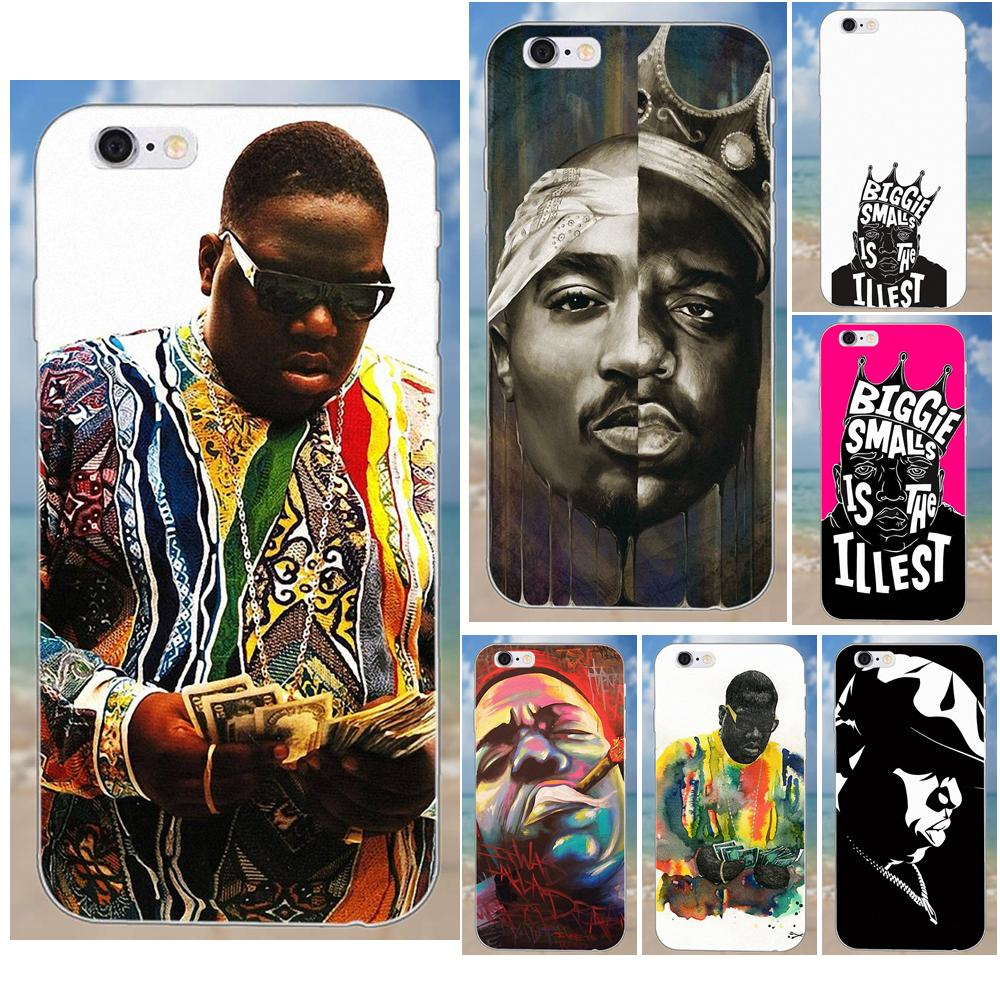 Biggie Smalls <font><b>B</b></font>. i. g. Rap Hip Hop Legend Für iPhone X 4 4 S 5 5C SE 6 6 S 7 8 Plus Galaxy S5 S6 S7 S8 Grand Core II <font><b>Prime</b></font> Alpha image