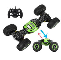 1:10 Scale Double sided 2.4GHz RC Car One Key Transformation All terrain Vehicle Varanid Climbing Car Remote Control Toys