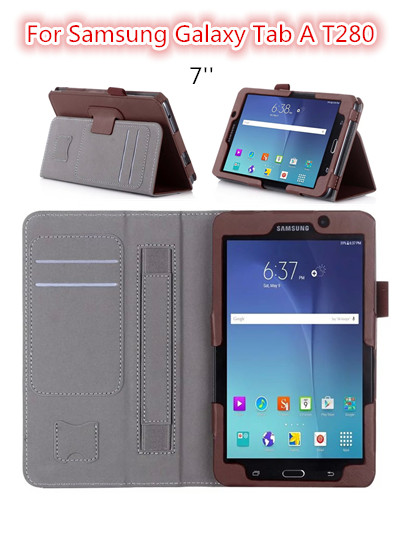 presell fashion Pu leather case for Samsung TAB A 7.0 T280 T285 cover newest case cover stand for Samsung tab a T280 case shell