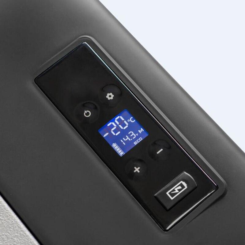 Alpicool Portable APP Conrtol Mini compresseur réfrigérateurs 15L Portable Mini Portable voiture réfrigérateur froid/chaud double usage DC12V/24 V - 3